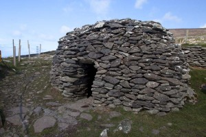 Exterior of bee hive hut (the top has been reconstructed – and not as neatly as the 4,000 year old bits!)