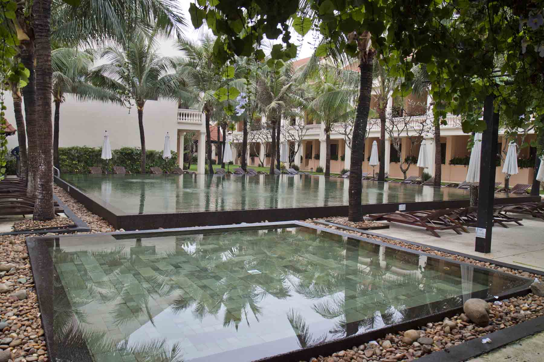 The pool at Life Heritage Resort, Hoi An