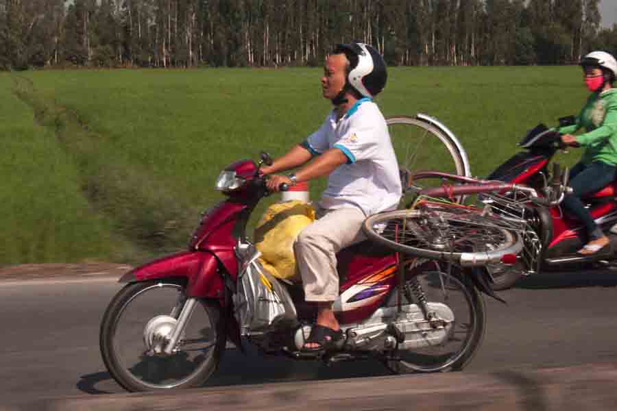 Spare bike