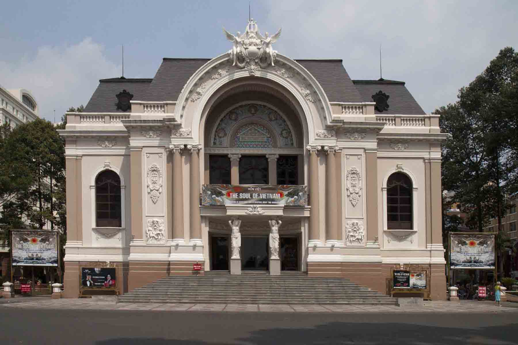 Municipal Theatre (Saigon Opera House)