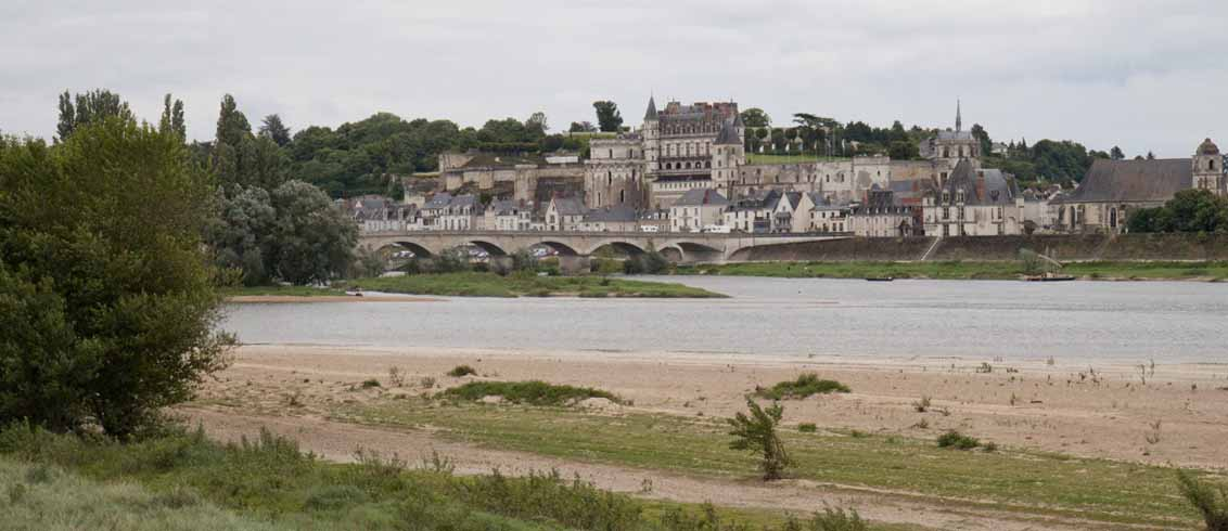 First sighting of Amboise, France