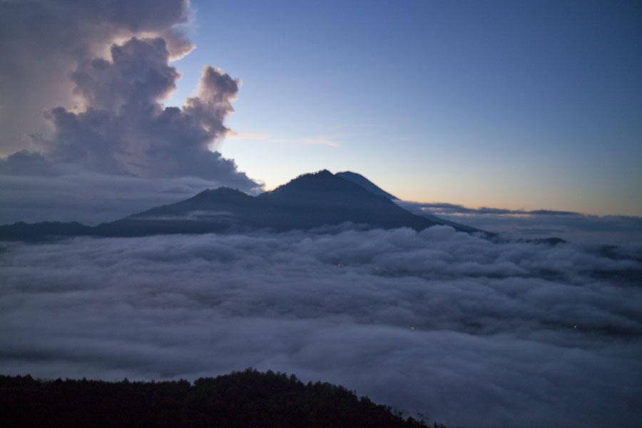 Pre-dawn at Mt Batur, Bali