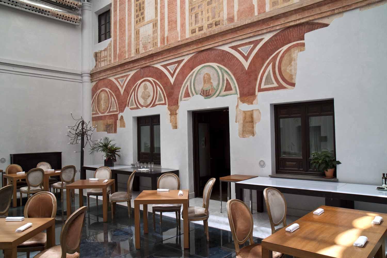 Restaurant In Hotel Palacio Del Bailio Córdoba