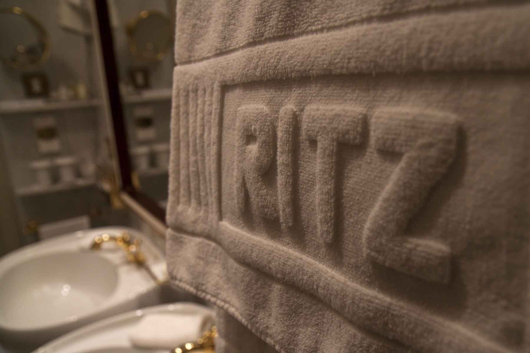 The mighty Ritz name is throughout the hotel