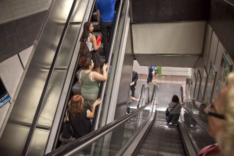 Fontana Metro, Barcelona