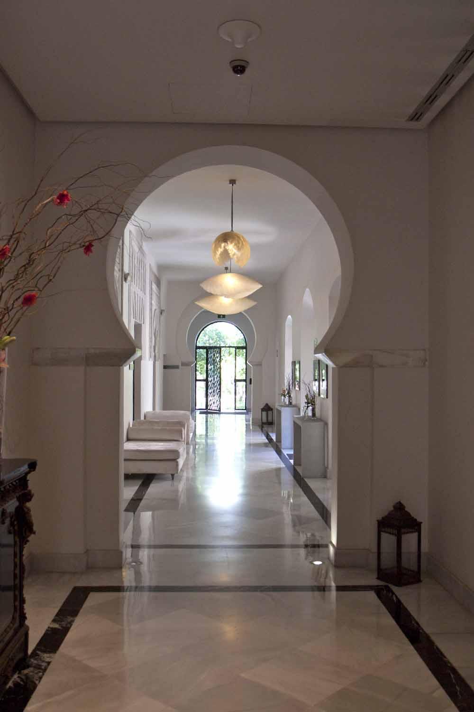 Corridor of Palacio del Bailio, Cordoba