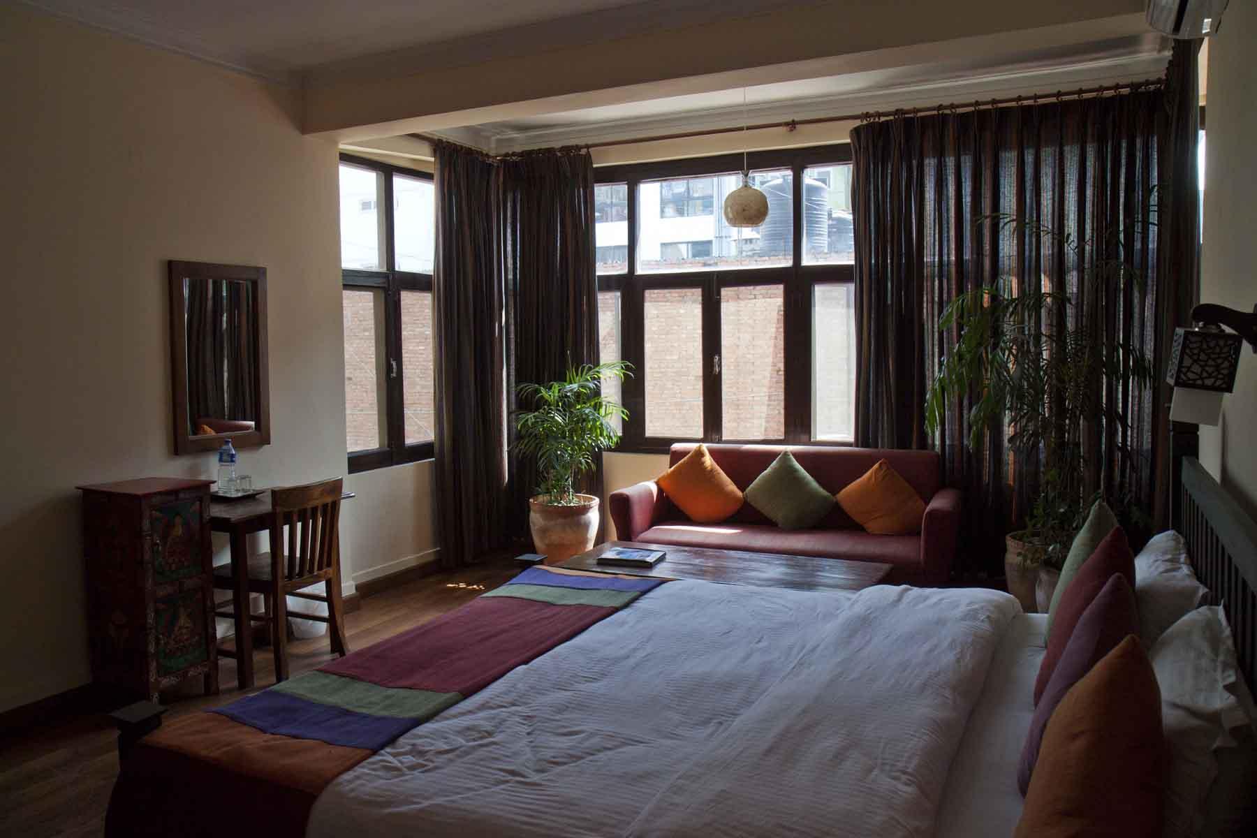 Mt Annapurna room in Hotel Mi Casa, Thamel, Kathmandu