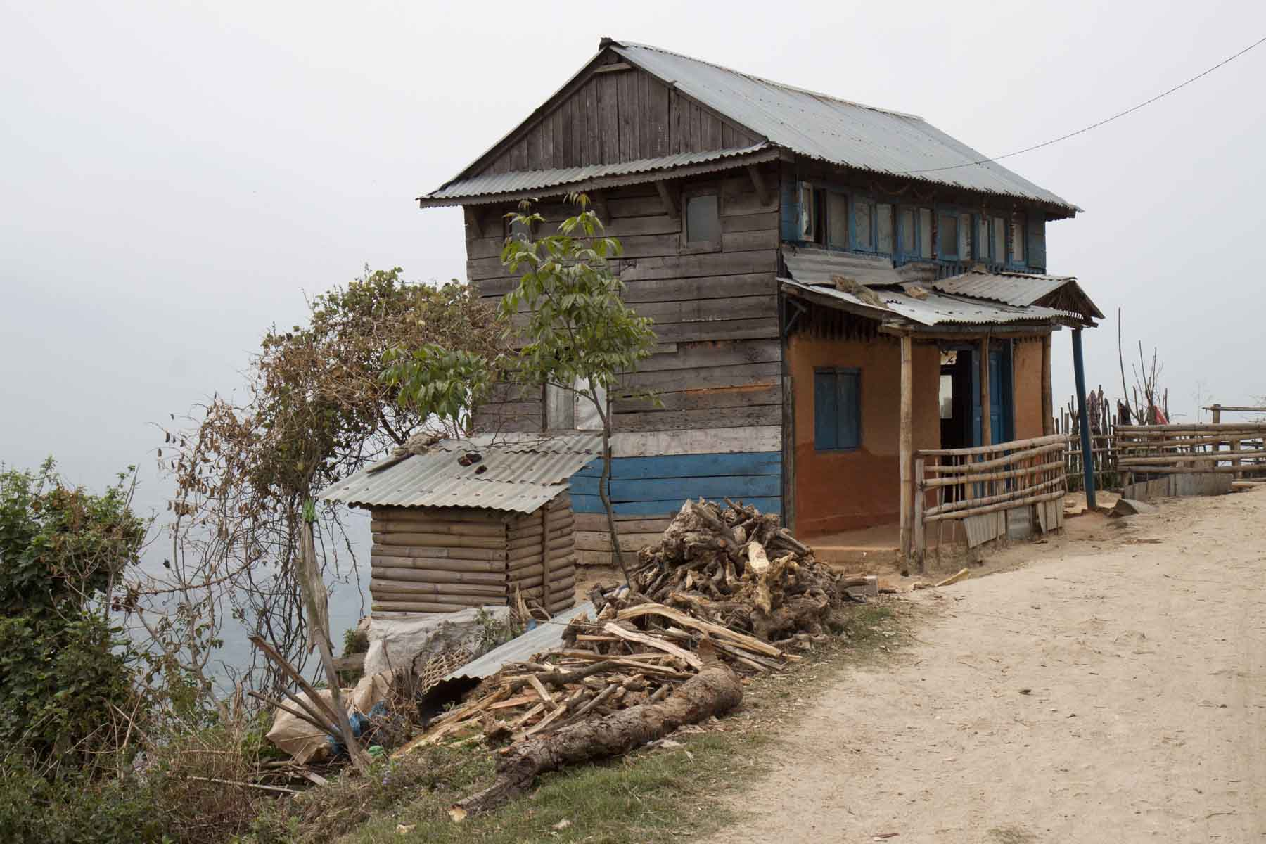 Farmhouse outside, Changu, Nepal