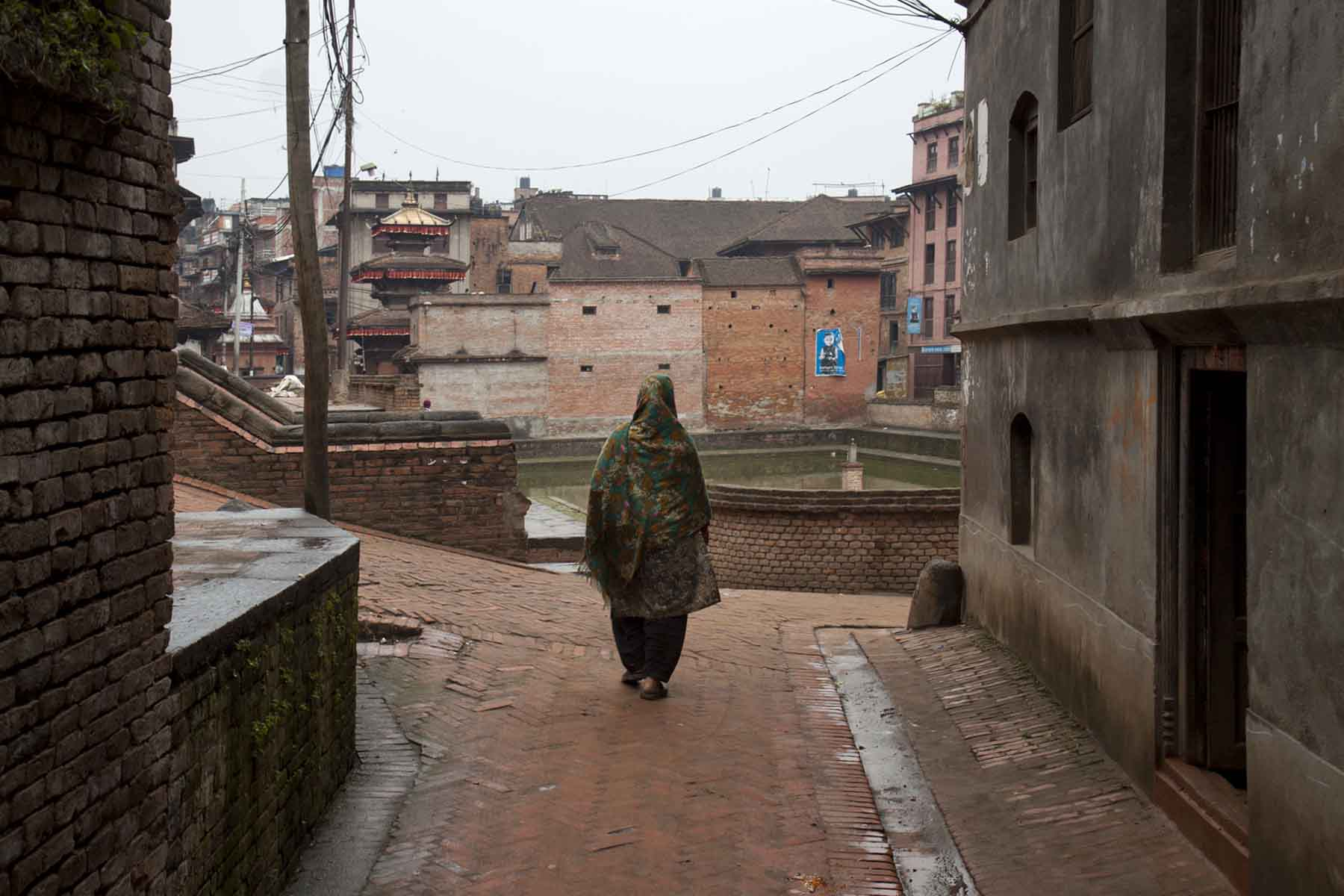 Morning in Bhaktapur, Nepal
