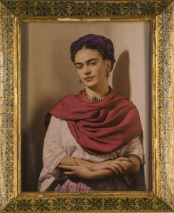 Portrait of Frida Kahlo, The Blue House, Mexico City